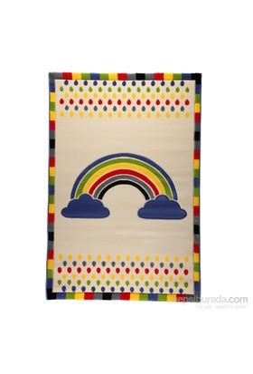 Poypoy Rainbow Çocuk Halısı 120X180 Cm