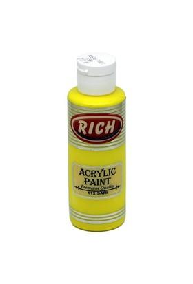 Rich Akrilik Boya 130 Cc Sarı