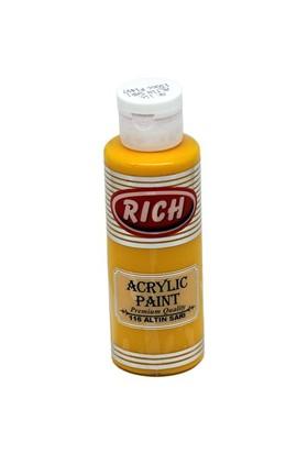 Rich Akrilik Boya 130 Cc Altın Sarı
