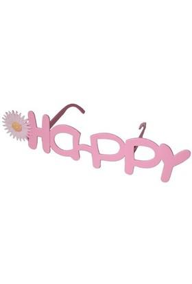 Pandoli Pembe Happy Gözlük