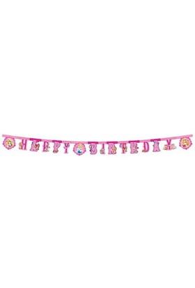 Pandoli Princess Animals Happy Birthday Set