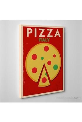 Tabloshop Pizza Italy Kanvas Tablo