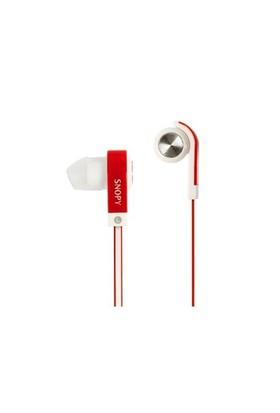 Snopy Sn-5020-K Snopy Kırmızı Kulakiçi Mikrofonlu Kulaklık