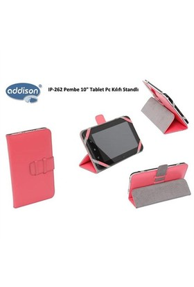 Addison Ip-262 Pembe 10 Tablet Pc Kılıfı Standlı