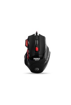 Everest Sm-X7 Usb Siyah Oyuncu Mouse