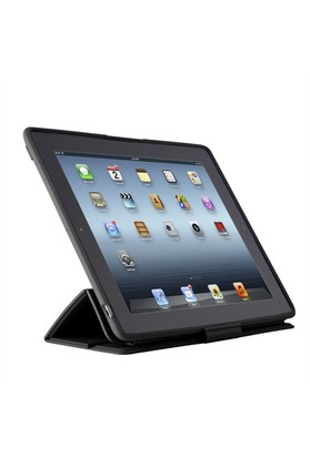 Speck PixelSkin HD Wrap Siyah New iPad Kılıfı ve Standı