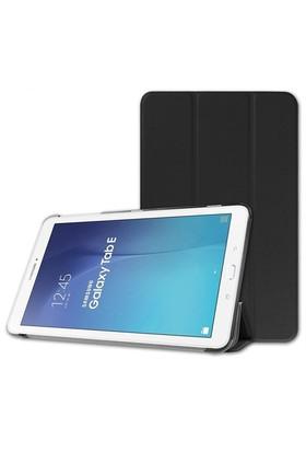 Microsonic Samsung Galaxy Tab E 9.6'' T560 Smart Case Ve Arka Kılıf Siyah