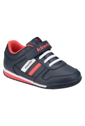 Kinetix 1254244 Lacivert Beyaz Kırmızı Erkek Çocuk Sneaker