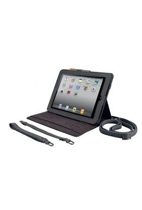 Ozaki iCoat Versatile Kalemli Gri iPad 2/New iPad Kılıfı ve Yatay Standı