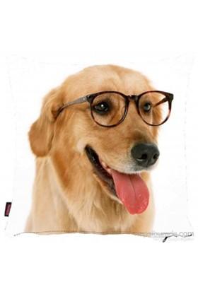 Bengü Accessories Köpek Desenli Dekoratif Yastık 1