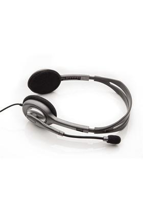 Logitech H110 Stereo Kulaküstü Gri Kulaklık 981-000271
