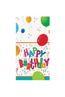 Pandoli Birthday Jamboree Masa Örtüsü 137X213 Cm