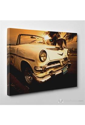 Tabloshop - Eski Küba Araba Canvas Tablo - 75X50cm