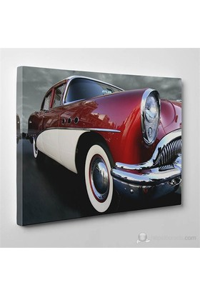 Tabloshop - Classic Cars Canvas Tablo - 75X50cm
