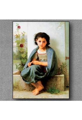Tablom Küçük Kız Kanvas Tablo
