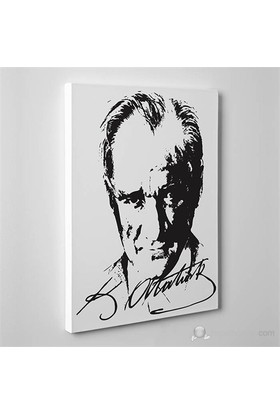Tabloshop - Mustafa Kemal Atatürk Canvas Tablo - 75X50cm