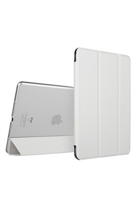 Qapak İpad Air 2 Smart Case Kılıf Beyaz