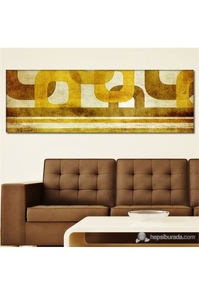 Tabloshop - Brown Dreams Iı Canvas Tablo - 90X30cm