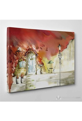 Tabloshop - Open Door Canvas Tablo - 75X50cm