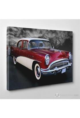 Tabloshop - Klasik Amerikan Araba Canvas Tablo - 75X50cm