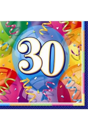 30 Yaş Kağıt Peçete