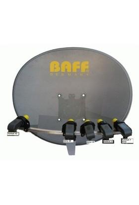 Baff Multifocus Delikli Çanak Anten - Sabit Yönden 5 Uydu