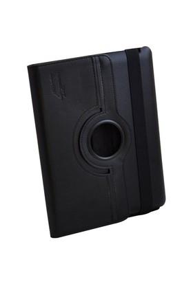 Inca Darkshark Siyah Deri iPad 2/New iPad/iPad 4 Kılıf&Stand (IKPA-085S)