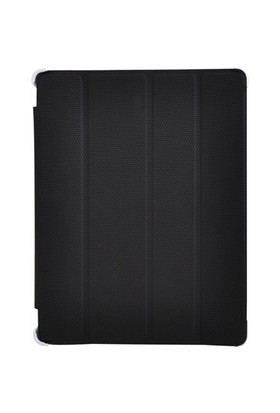 Inca Darkshark Siyah Deri iPad 2/iPad 3/iPad 4 Smart Kılıf&Stand (IKPD-024S)
