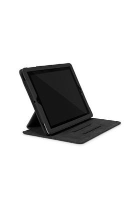 Incase Book Jacket Revolution Siyah iPad 2/New iPad Dönebilen Kılıf ve Standı