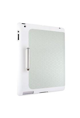 Ozaki iCoat Slim Y + Kalemli Gri iPad 2/New iPad Kılıf ve Standı