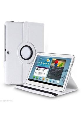 Lopard Samsung Galaxy Tab 4 T530 Kılıf 360° Dönebilen Standlı Kapaklı Kılıf