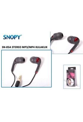 Snopy Sn-05A Siyah/Kırmızı Kulaklık