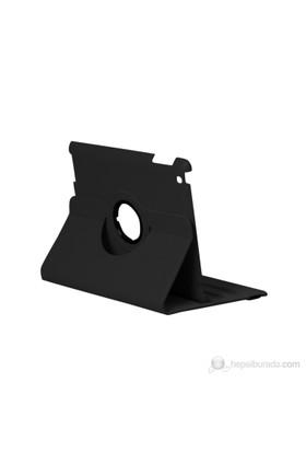 Daytona Döner Kapaklı Siyah New iPad Kılıfı