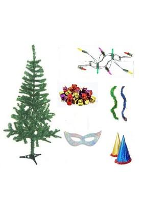 Yılbaşı Çam Ağacı-90 cm ve Seti