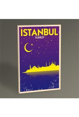 Tablo 360 İstanbul Gece Tablo 45X30