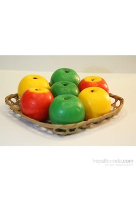 Edmis Doğal Meyve Kokulu Meyve Sabunu Karışık Elma Sepeti