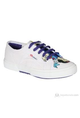 Superga Disney Bianca Ctoj Çocuk Ayakkabı Beyaz