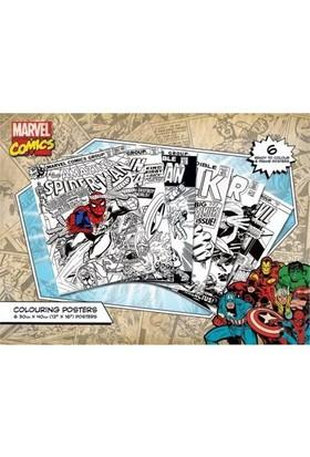 Pyramid International Boyama Poster Seti Marvel Comics Covers