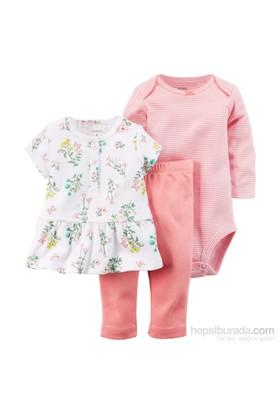 Carter's Layette Kız Bebek 3'Lü Set 121D562