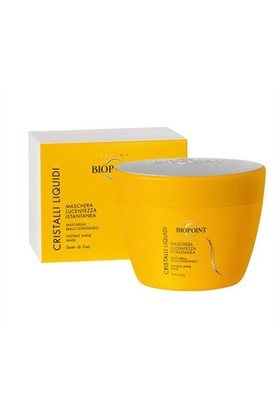 Biopoint Cristalli Liquidi Instant Shine Mask 200 Ml - Parlaklık Veren Saç Maskesi