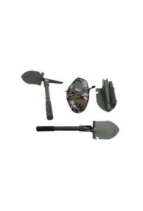 Prusa Fishing Portatif Katlanabilir Kazma - Kürek Seti