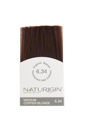 Naturigin Organik İçerikli Saç Boyası Orta Bakır Sarısı 6.34