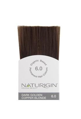 Naturigin Organik İçerikli Saç Boyası Bakır Altın Sarısı 6.0