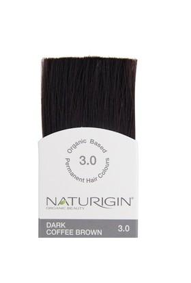 Naturigin Organik İçerikli Saç Boyası Koyu Kahverengi 3.0