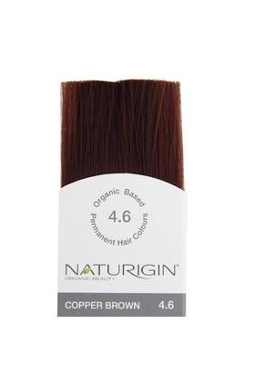 Naturigin Organik İçerikli Saç Boyası Bakır Kahverengi 4.6