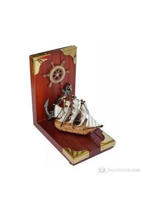 Marintek Yelkenli Tekne Figürlü Kitap Tutacağı