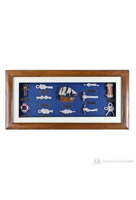 Marintek Denizcilik Figürlü Dekoratif Duvar Panosu No:336