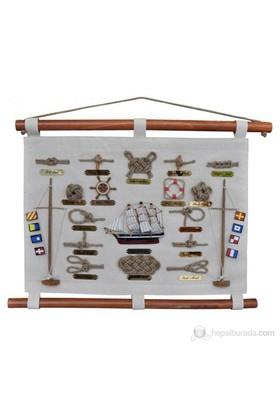 Marintek Denizcilik Figürlü Dekoratif Duvar Panosu No:357