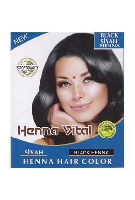 Henna Vital Kına Siyah Black Henna Hair Color