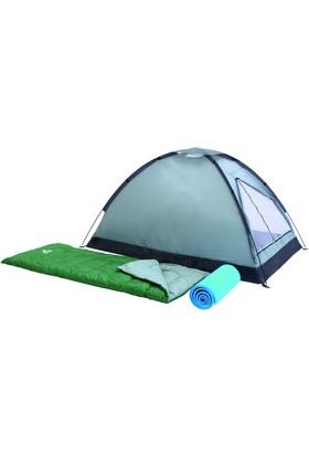 Pavillo Outdoor Çadır Set (2 Adet Uyku Tulumu + 2 Adet Minder (68000)